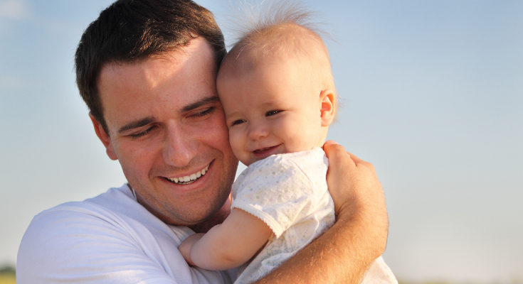 Un bebé siempre antedido no sufrirá estrés