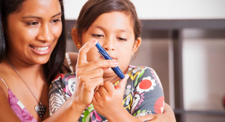 El sobrepeso es una causa común de la diabetes en niños