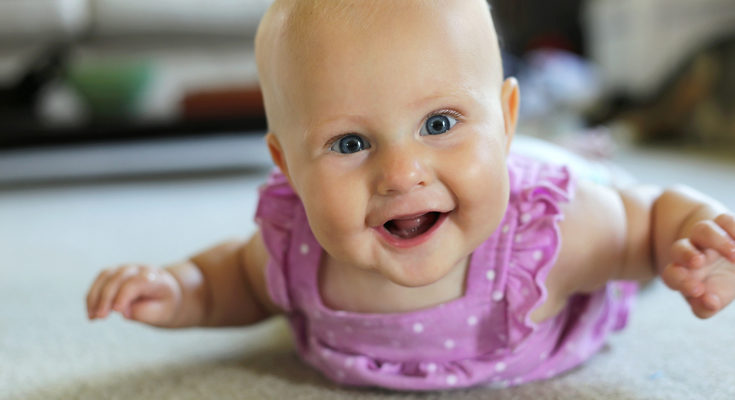 El beb de 5 meses bekia padres - Con cuantos meses se sienta un bebe ...