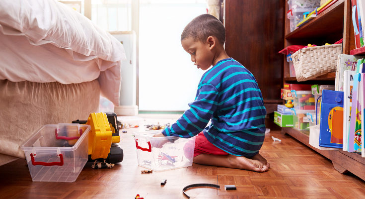 Si no les damos responsabilidades, los niños aprenden a que hagan todo por ellos