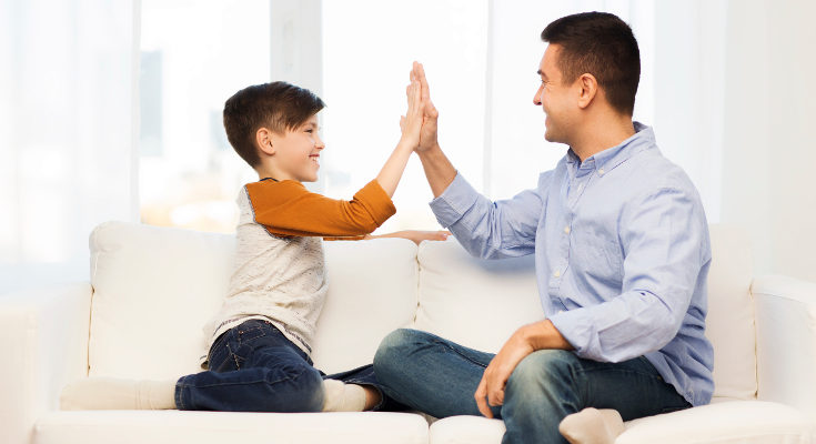 Las riñas temporales no impiden que un niño o una niña sean felices