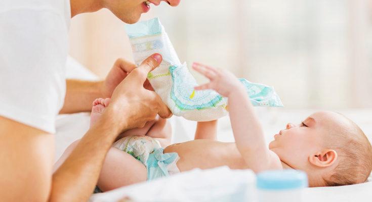 Si el bebé tiene diarrea es común que se le irrite el trasero