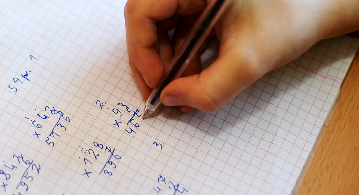 La solución no está en hacer a tu hijo calcular cuentas todo el día