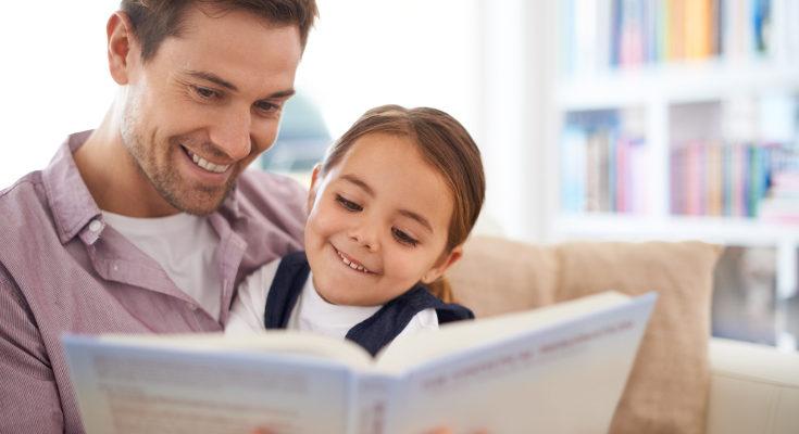 Si estamos con ellos, la lectura se convierte en una actividad que les guste