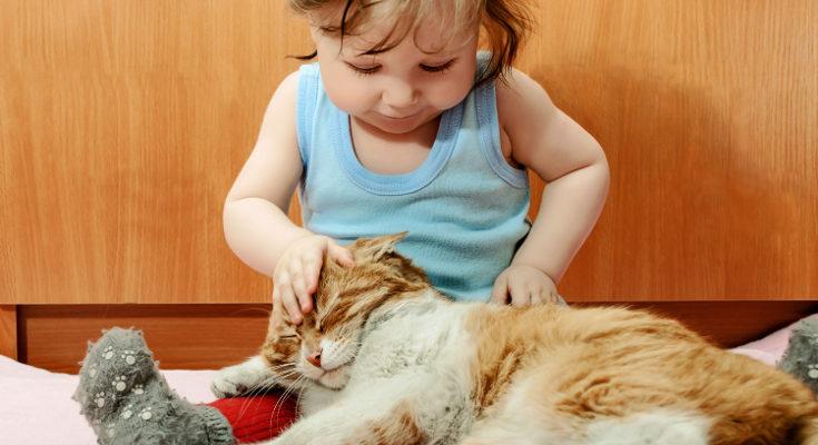 La convivencia entre bebés y mascotas fortalece el sistema inmunológico del pequeño