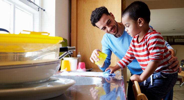 Colaborar en las tareas hace a los niños sentirme más valorados e integrados