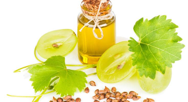 Este aceite está elaborado a partir de aceite de pepitas de uva