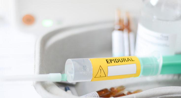 La anestesia epidural hace el parto sea más lento, pero menos doloroso