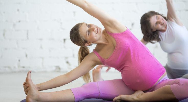 El pilates nos ayudará a prevenir los dolores de espalda del embarazo