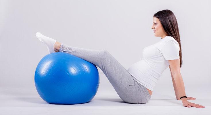 Los ejercicios de pilates irán cambiando a medida que avance el embarazo