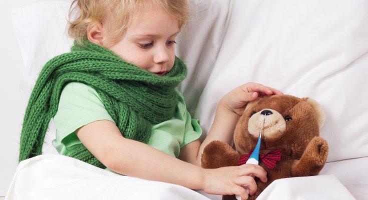 Cuando tiene unas décimas, la fiebre ayuda a luchar contra la infección