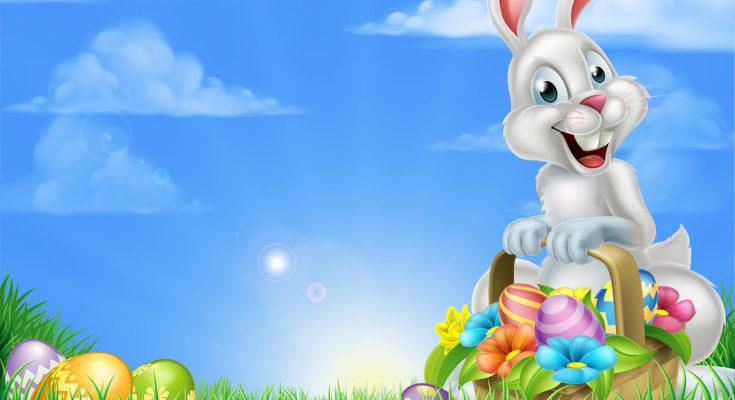El conejo de Pascua deja huevos de colores para anunciar que Jesucristo ha resucitado</p><p>