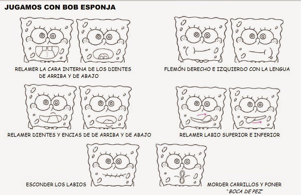 Praxias de Bob Esponja