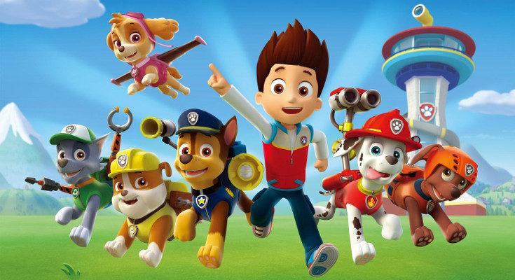 'La patrulla canina' es la serie más exitosa entre los niños y niñas