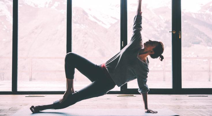 Incluso durante el embarazo podemos practicar el yoga