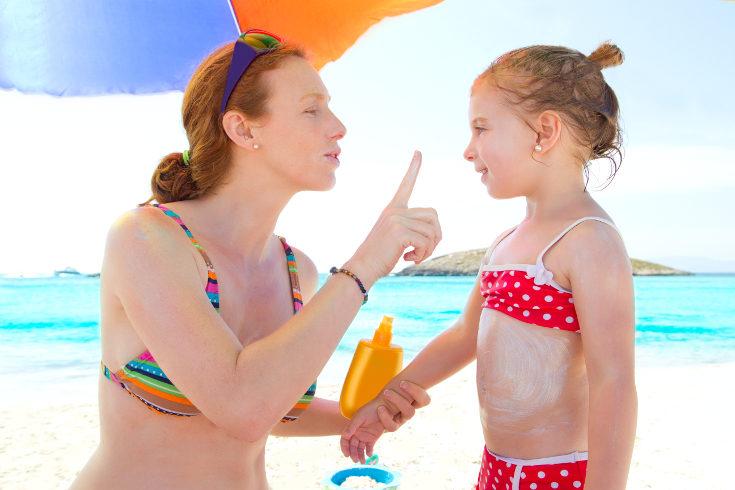 Recuerda proteger su piel con una crema solar adecuada