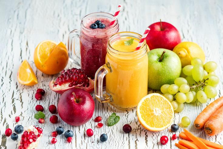 Aprovecha para probar nuevas bebidas, como los zumos de frutas