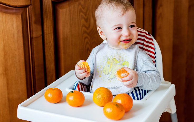 Antes de este tipo de frutas, podemos darles peraso manzanas