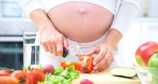 Cocinar embarazada