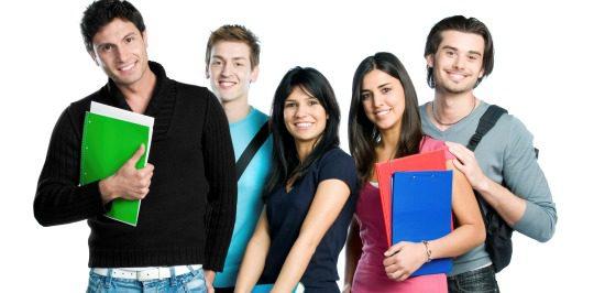 Jóvenes universitarios