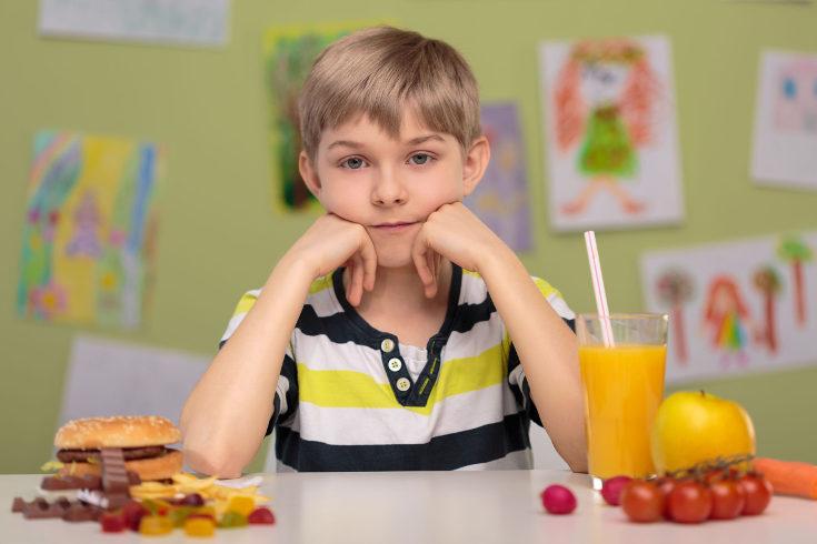Reduce al mínimo los alimentos más azucarados de la dieta de los niños