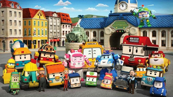 Robocar Poli es una de las series favoritas de los niños pequeños