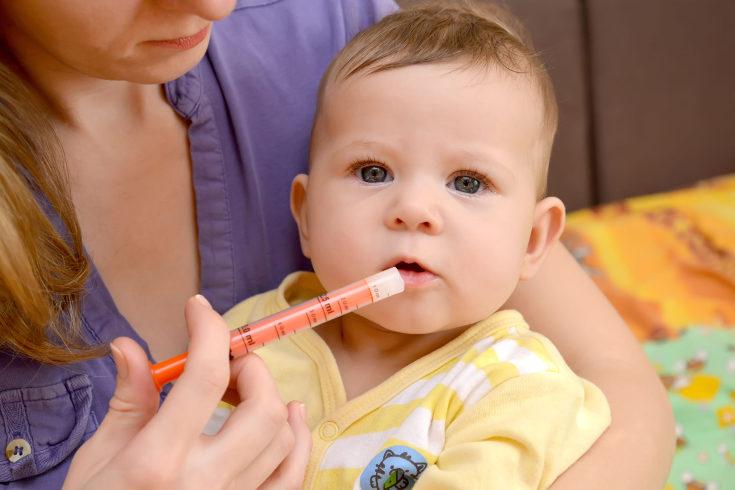 Es normal que el bebé rechace el medicamento