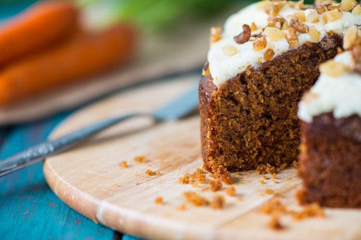 De vez en cuando podemos cocinar dulces como una tarta de zanahoria, cuyo sabor sustituye al azúcar