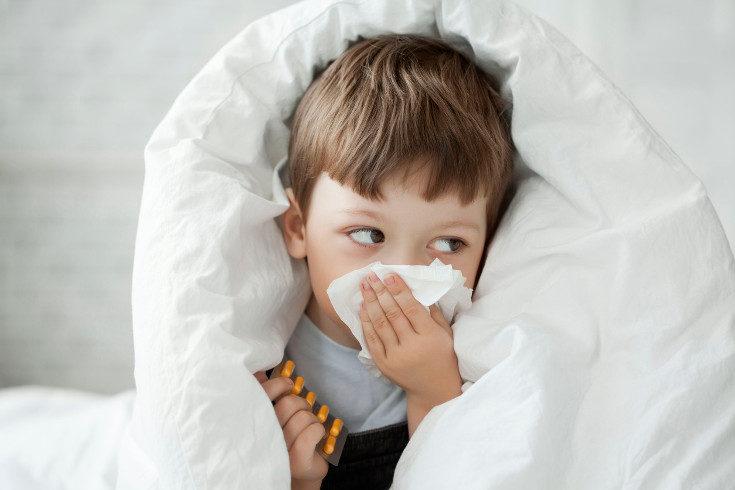 Tras la operación de vegetaciones, quizá el niño sangre alguna vez por la nariz