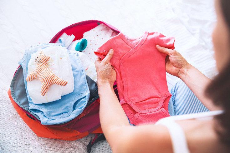 Los pijamas y los bodies son muy importantes en la canastilla