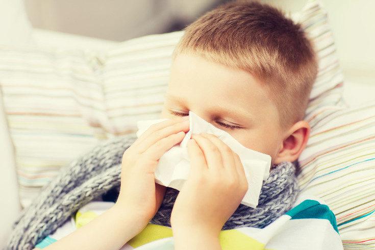 En niños menores de 2 años es más común el resfriado