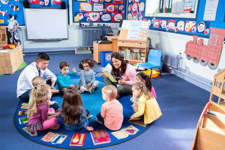 Los niños se hacen mayores y dan el salto a la escuela infantil