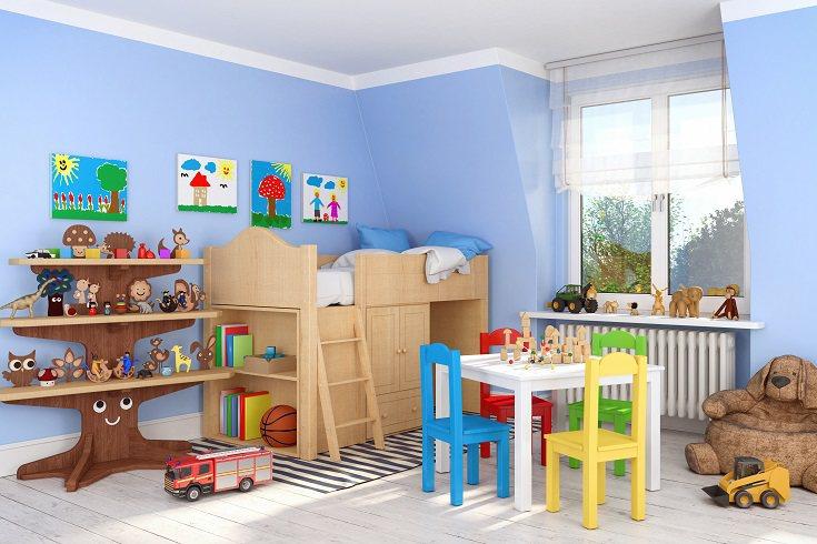 Los juguetes o libros deben estar siempre ordenados, se debe evitar amontonarlos.