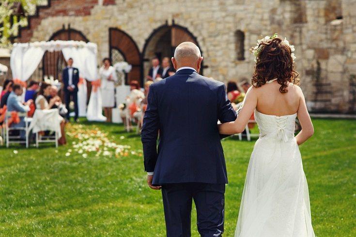 Ser el padre de la novia no tiene que ser nada traumático