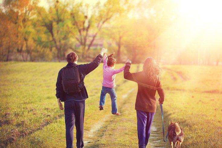 Si los padres discuten pero lo hacen de forma justa y con madurez, el niño podrá beneficiarse