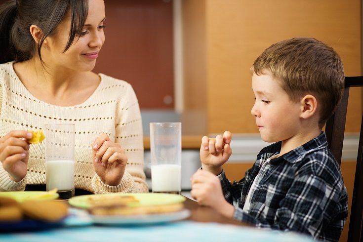 La alimentación no es la misma en un niño que en una persona adulta