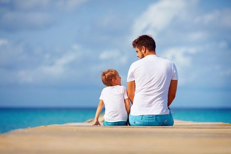 Haz saber a tu hijo que estás dispuesto a escuchar todo lo que te quiere decir