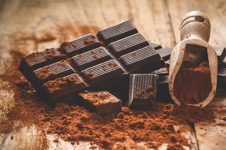 El chocolate negro también contiene magnesio, que es un excelente antiestrés
