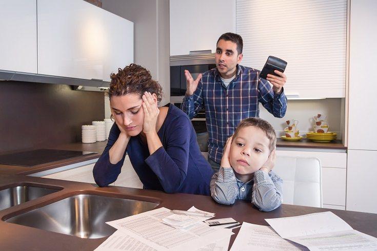 Tener hijos puede hacer que te consumas poco a poco