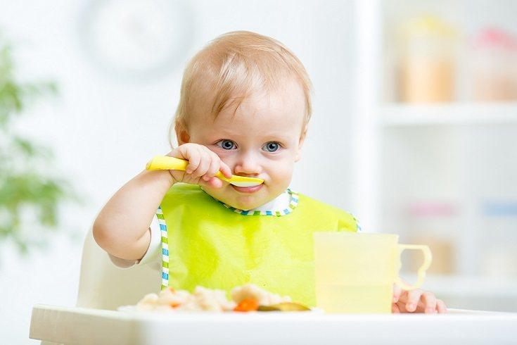 A partir de los 6 meses de edad el bebé puede comer todo tipo de verduras y hortalizas