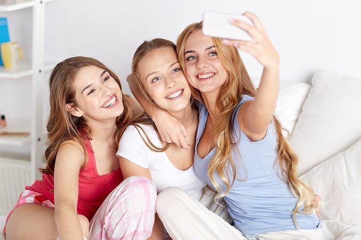 Una hija adolescente es posible que tenga problemas de autoestima