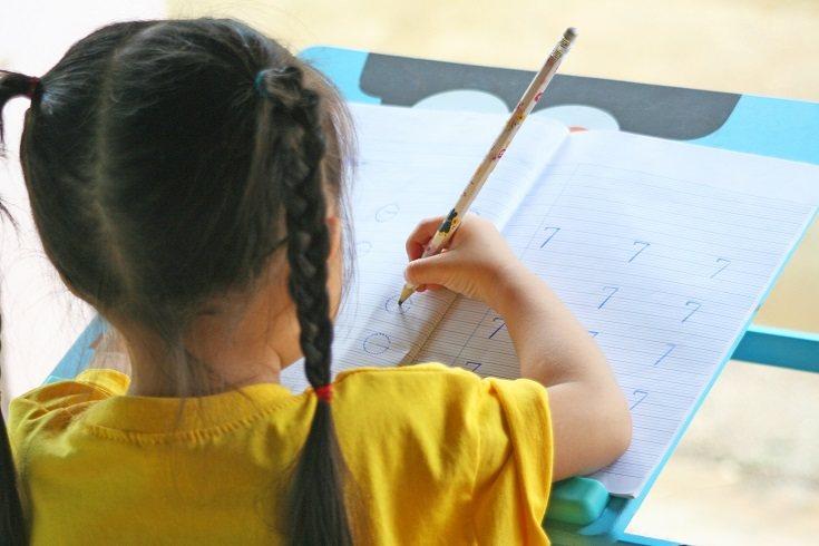 Un niño en primero de primaria no debería estar más de 10 minutos haciendo una tarea