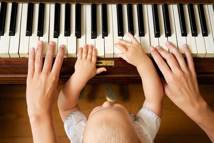 La idea de que la música clásica puede ayudar a los bebés no es nada nuevo