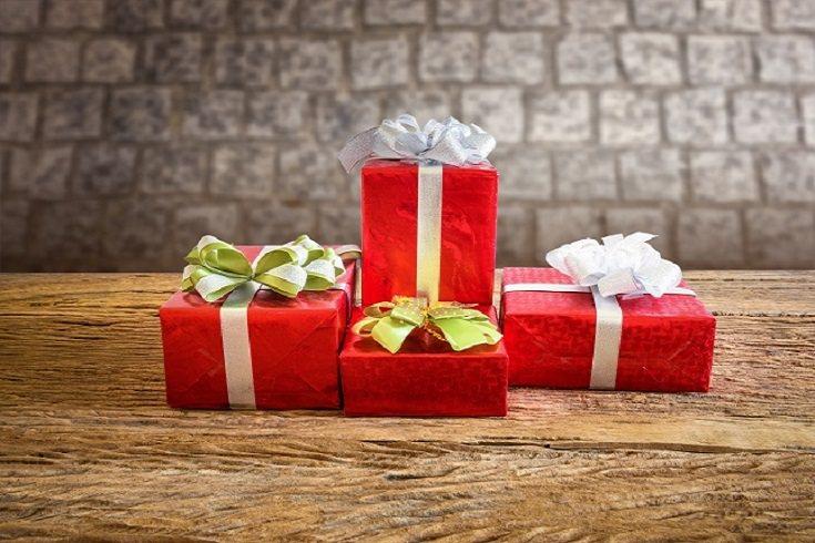 La originalidad a la hora de entregar los regalos también es importante