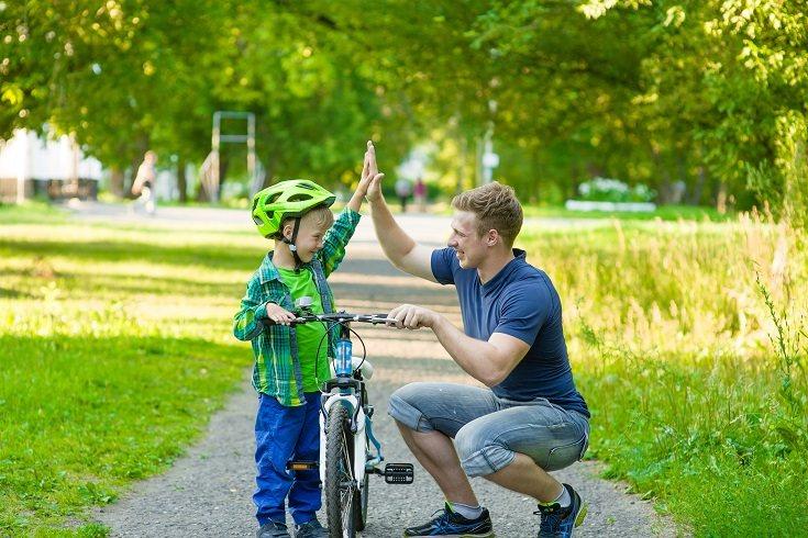 No hay un niño en este mundo al que no le guste un regalo como el de una bicicleta
