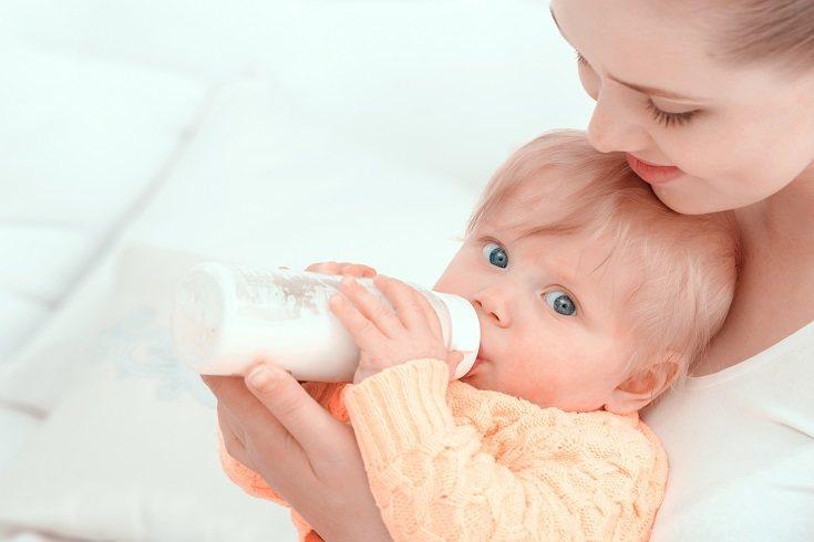 Es muy importante que el bebé no abuse del biberón