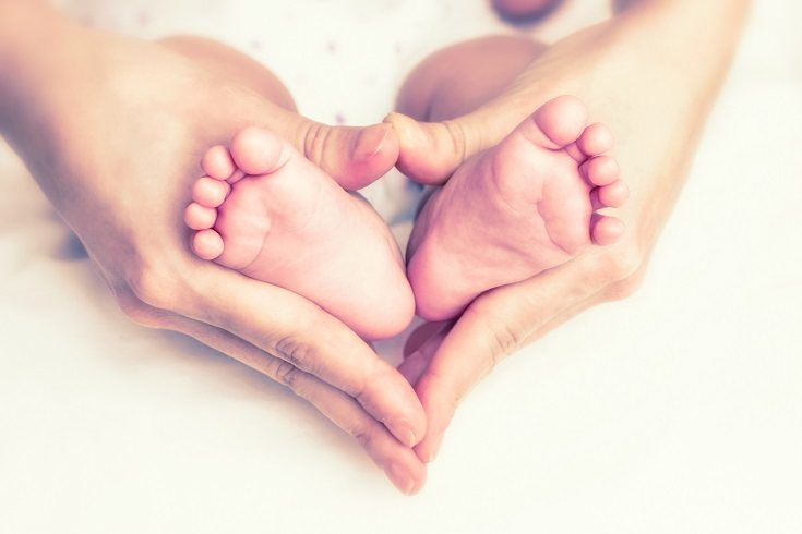 Durante los primeros tres meses de la vida de un bebé, crecerá aproximadamente el 20% de su tamaño
