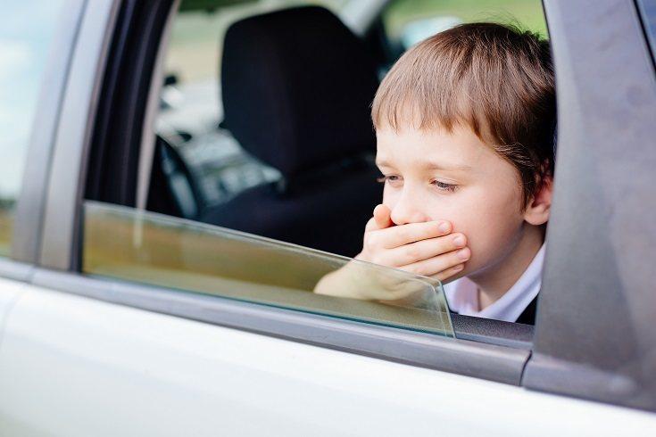 Hay niños que vomitan más que otros durante su infancia