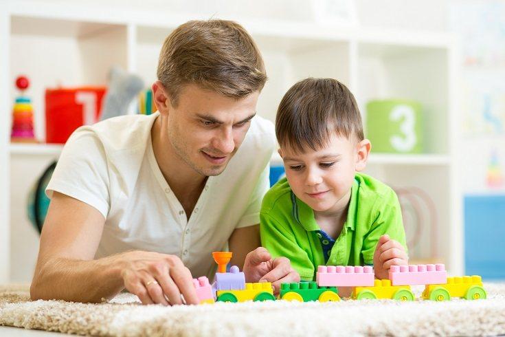 Los juguetes pasivos fomentan el juego activo