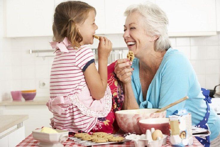 Los abuelos son muy importantes en la vida de los nietos